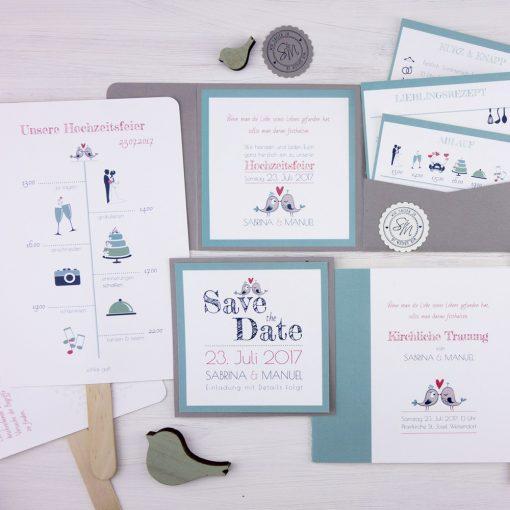 Online Hochzeitspapeterie bestellen: Prints & Princess